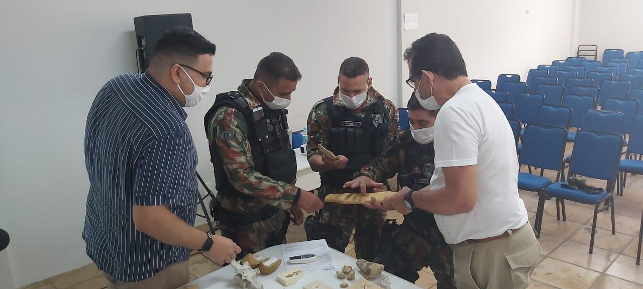 Curadores do MPPCN realizam capacitação de policiais militares da 2aCIA/BPMA